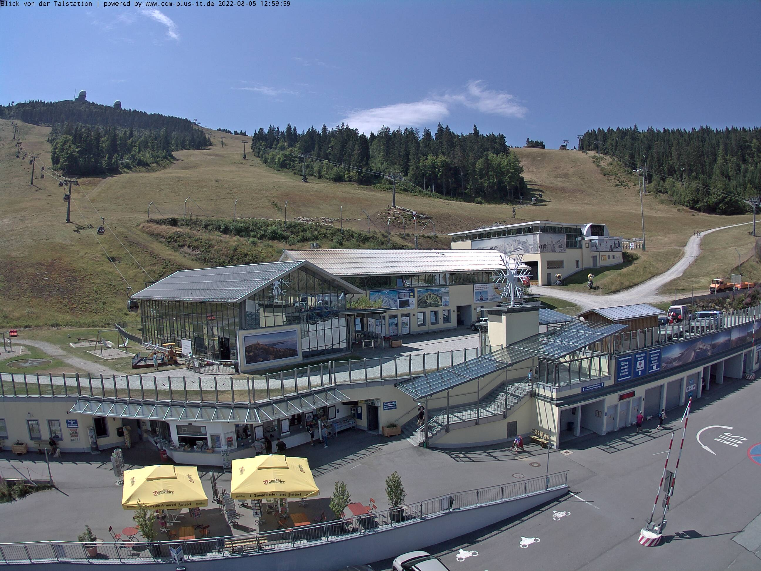 Webcam Großer Arber Talstation